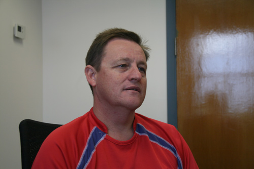 Bermuda's National Coach David Moore. *Photo by James Burton