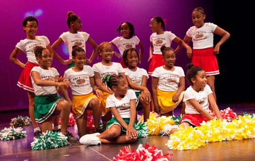 West Pembroke Cheerleaders, one of the Top 20 contestants *File photo by Ephraim Divine