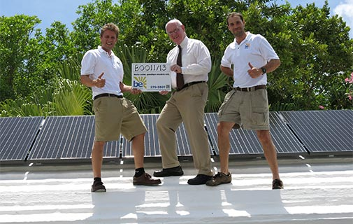 US consulate goes solar to reduce carbon footprint