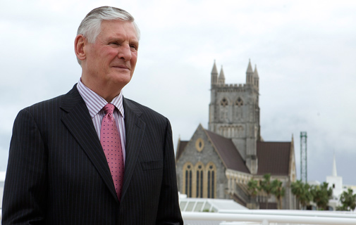 CEO of the Bermuda Tourism Authority, Bill Hanbury *File photo