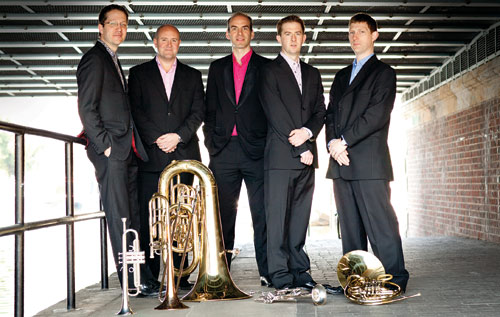 Brass quintet to perform mix of challenging chamber music