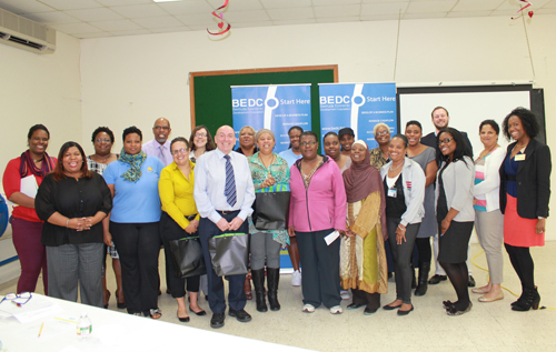 BEDC Day Care Matters Seminar attendees and presenters. *Photo supplied