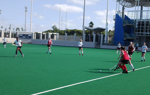 Hockey: Bermuda Federation show rivals no Mercy