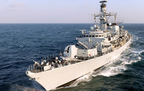 HMS Argyll returns to Bermuda