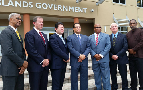 Premier speaks on Cayman visit