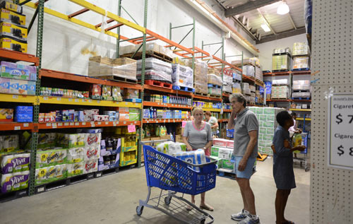 Shop wisely: If you buy in bulk you can save. Sometimes you can split the cost with family and friends. *Bermuda Sun file photo