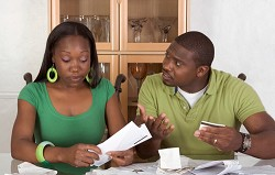 Whether it's household bills or national finances, debt is dangerous. *iStock photo