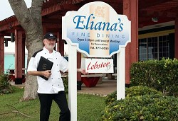 Franz Egenolf, chef and managing director, invites you to Eliana's for a delicious, delightful and relaxed evening. <em>*Photo supplied</em>