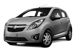 <strong>Chevrolet Spark</strong>: The upgraded model is fuel-efficient and an ideal runaround car for the island's roads. <em>*Photo supplied</em>