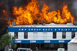 HWP has been required to lay off and give notice to 21 staff due to the fire on August 8. <em>*File photo</em>