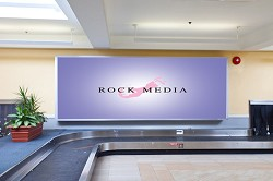 Rock Media's attention to detail is unparalleled and is evident in all its advertising displays throughout L.F. Wade International Airport. <em>*Photo supplied</em>