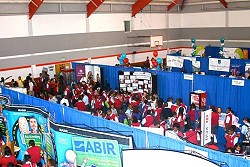 <strong>Advice</strong>: The ABIR booth at last year's Careers Fair. <em>*File photo</em>