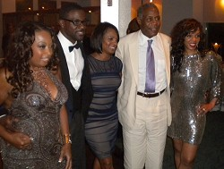 Star Jones, Lance Gross, Vanessa Bell Calloway, Danny Glover, and Wendy Raquel Robinson. <em>*Photo by Mikaela Ian Pearman</em><br />