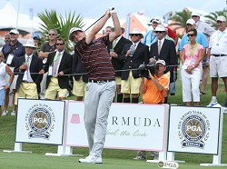 Keegan Bradley won the 2011 PGA Grand Slam of Golf, at the Port Royal Golf Course in Bermuda. Could Bermuda soon lose the event? *File photo by Ras Mykkal