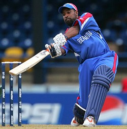 <strong>Janeiro Tucker</strong> has been selected as part of the national cricket team to represent Bermuda in the ICC World T20 Qualifier 2012. <em>*AFP photo</em><br />