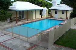 <strong>Shield</strong>: These pool fences offer protection but are easily removable and unbreakable. <em>*Photo supplied</em>