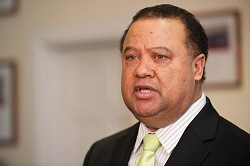 Minister Wayne Furbert said $29 million will be pumped into getting tourists to Bermuda. <em>*Photo by Kageaki Smith</em><br />