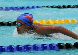 Ashley Yearwood was back from boarding school and competing in the meet. <em>*File photo</em><br />