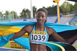 Bahamas sprinter Shaunae Miller <em>*Photo supplied</em>