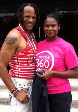 Trim: Terry Smith and Molessia Joynes are the winners of the 2012 100 Day Challenge. <em>*Photo supplied</em>