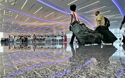 New terminal: Maynard H Jackson Jr Terminal opened at the Atlanta airport prior to Bermuda Day. <em>*MCT photo</em>