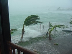 Hurricane Fabian in September, 2003, caught many residents off-guard and resulted in four fatalities. <em>*File photo</em>