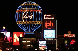 Sin city: Las Vegas ranks right up there as the most popular destination of non-gateway US cities for Bermuda residents. <em>*MCT photo</em>