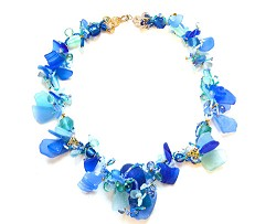 Ocean treasures: Sea glass jewellery by Judith Paixao and Kevin Lombard. <em>*Photo supplied</em>
