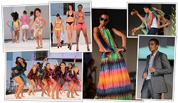 Showtime: Models were given exciting new opportunities in the fashion industry thanks to the Evolution Fashion Show. <em>*Photos by Kageaki Smith, Montage by Gary Foster Skelton</em>