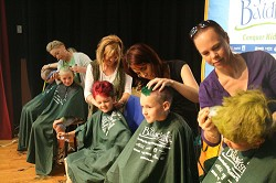 The St Baldrick's events in Bermuda raised $372,571 this year. <em>*File photo</em>
