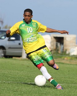 The Devonshire Cougars will dedicate the 2012/13 season to the memory of Tumaini Steede, pictured. <em>*Photo by Ras Mykkal</em>