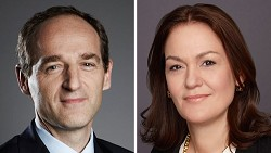 Patrice Louvet and Georgia Garinois-Melenikiotou have been elected to serve on Bacardi's 16-member board of directors. <em>*Photos supplied</em>