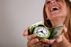 Laughing matter? The clock's ticking as debt rises. <em>*iStock photo</em>