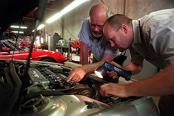 Check up: Your car warranty may not be valid if regular maintenance was not done by a reputable repair shop. *MCT photo